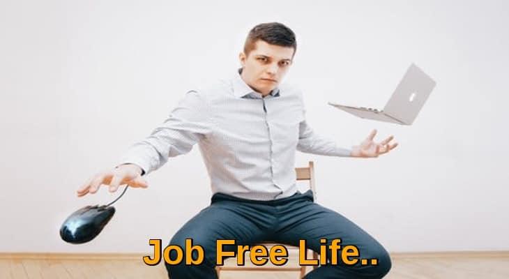 Job free life to leave 9-5 job rat race