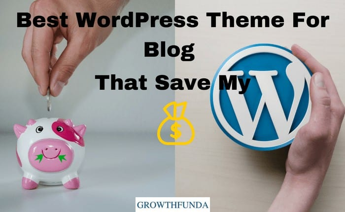 best WordPress theme for blog that save my money