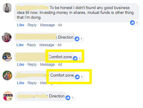 Facebook campaign result of starting business
