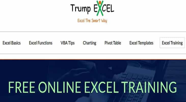 Sumit bansal excel blog trumpexcel