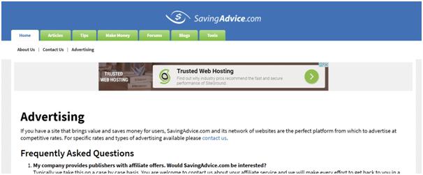 savingadvice personal finance blog