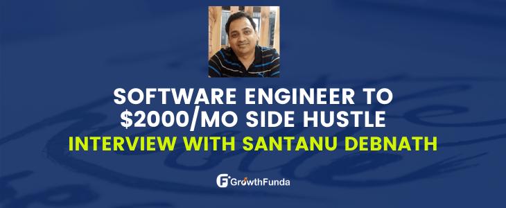 interview with santanu debnath founder of bloggingjoy