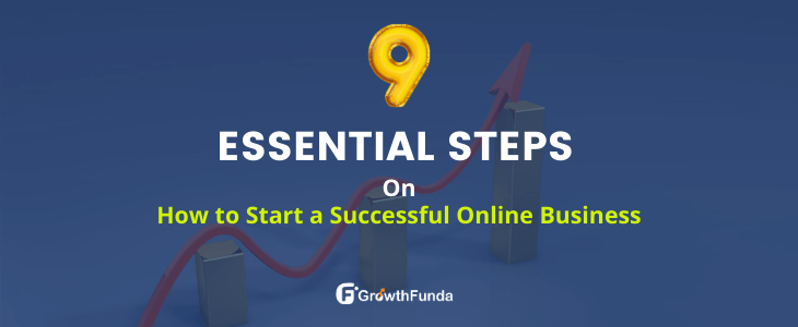 how to start a successful online business 9 essential steps