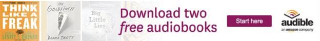 Audible an online audiobook