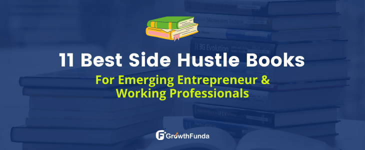 best side hustle books for emerging entreprenueur and working professionals