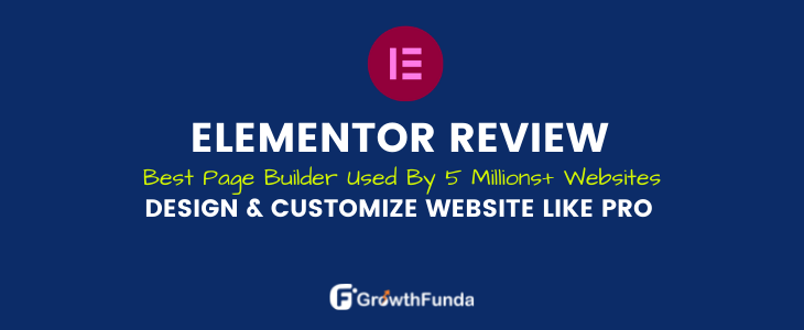 elemntor review, the best page builder